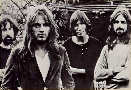 Pink Floyd at Stirling University, 1971