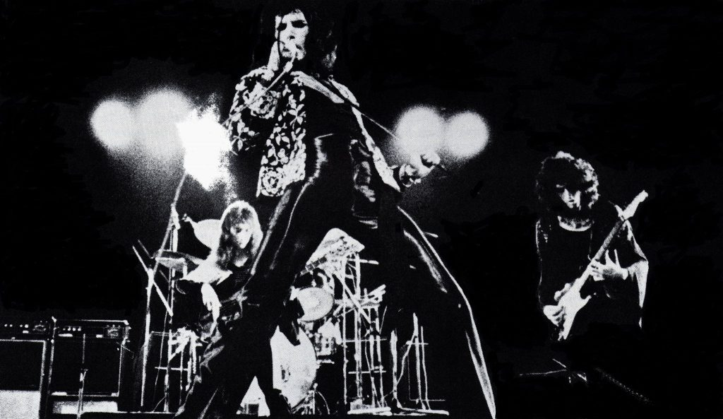 Queen at the Rainbow Theatre, only a couple of weeks after playing at UofS.